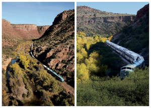 Fall Colors in Verde Canyon