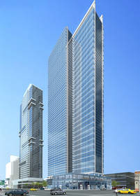 luxury rental, showroom retail, Hudson Yards District, luxury amenities
