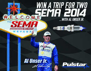 Pulstar Promotion - Win a Trip for two to SEMA 2014