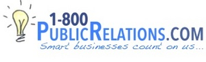 PR and media booking services provided by 1800 Public Relations, 1800PublicRelations.com