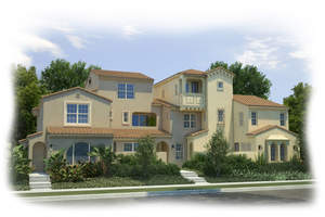 zinnia, cypress village, irvine new homes, new irvine homes