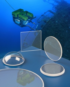 Meller sapphire optics for subsea applications