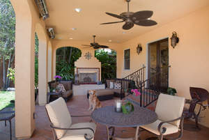 Homeowners in San Diego enjoy year-round outdoor living and Marrokal Design & Remodeling created this beautiful space for one client.