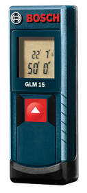 Small enough to fit in the palm of your hand, the GLM 15 delivers precise measurements within 1/8 of an inch of accuracy.