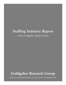 Staffing 360 Solutions Releases a White Paper on the  Staffing Industry