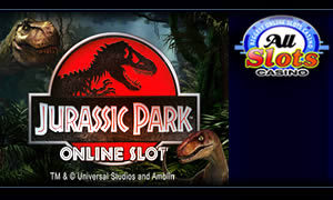 Jurassic Park online slot at All Slots Casino