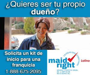 un negocio propio con Maid Right