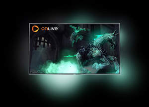 Philips TV's with OnLive inside and Ambilight Gaming