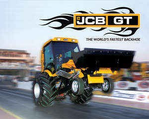 The JCB GT, a 1300-horsepower backhoe.