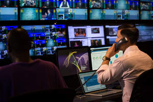 At the Piksel Live Streaming and Monitoring Center, a team of Piksel experts monitor content 24/7.