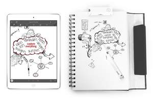 With Equil Smartpen 2, users can share notes, sketches and ideas in real-time to any device or send them to others.