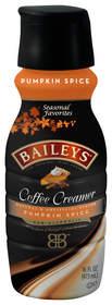BAILEYS Coffee Creamers Pumpkin Spice returns for holiday 2014