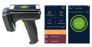 Clarity Inventory software running on TSL RFID reader