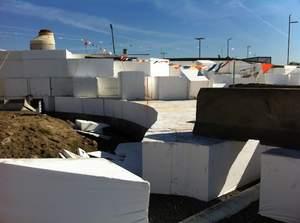 ACH Foam Technologies' EPS geofoam