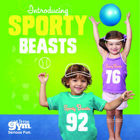 The Little Gym Sporty Beasts class