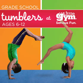The Little Gym Tumblers class