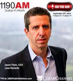 CEO Jason Flom of Lava Records Public Relations by 1800PublicRelations.com
