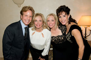 "Pictured left to right: ""Once Upon a Dream"" performers Billy Grubman, Judith Whitmore, Frances Young Bennett and Lynn O'Hearn Wagner."