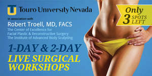 Courses and Live Surgical Workshops by Dr. Robert J. Troell, M.D., F.A.C.S.
