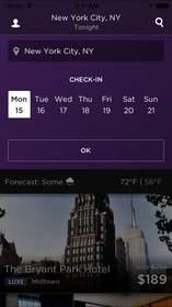 HotelTonight Redesigned App