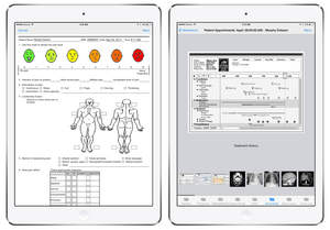 Catavolt Healthcare Mobile App Platform Screenshots