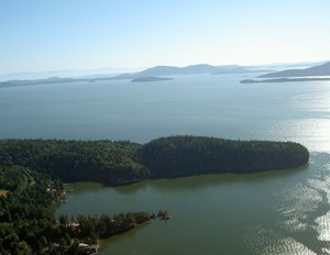 Governors Point, Washington is officially on the real estate market for the first time in more than 50 years.