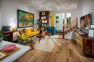 Award-winning interior design work at SL70 by Trumark Homes