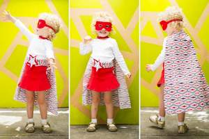 The mini Fashionista designed by Brit Morin and Velcro