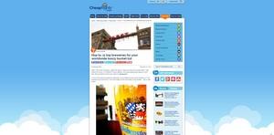 Cheapflights.com Top 11 breweries for your worldwide boozy buckt list! In honor of Oktoberfest.