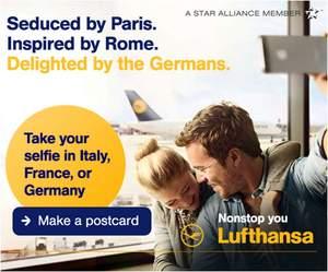 Lufthansa runs Selfie campaign