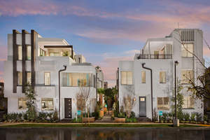 the terraces, gated new homes, la gated homes, threesixty