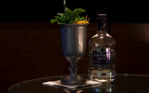 Cocktail in London bar