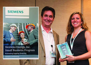 EarthRes receives Siemens 2014 Supplier Diversity Award