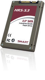 High-performance, rugged, security features, highly reliable HRS-S3 2.5 inch SATA 6G/s SSD