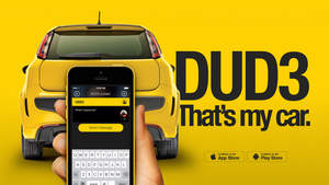 DUD3 mobile messager app to alert drivers and get alerted.
