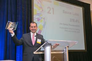Jim Cerna Sauce Labs Award