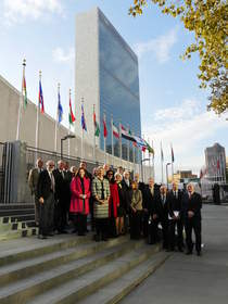 Organisations representing property and related professional services from around the world met at the United Nations in New York last week (22-23 October) to establish the International Ethics Standards Coalition (IESC).