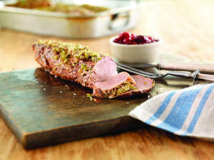 Spicy Cranberry Pork Tenderloin