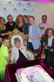 Goldie Steinberg celebrates her 114th birthday.