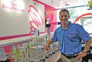 Planet Smoothie franchise owner Jason Mann