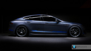 Unplugged Performance Model S P85+ with UP-01 wheels by BBS