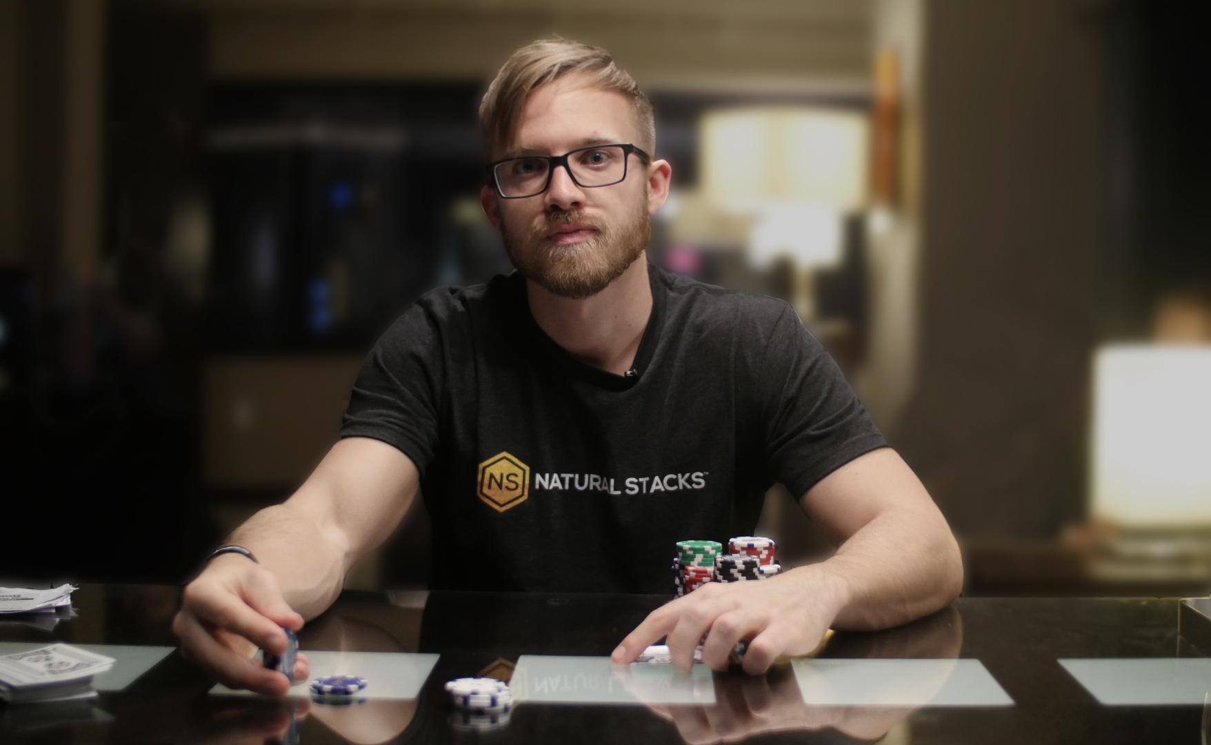 Natural player poker meuble de rangement sur roulettes