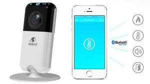 link-U IP camera and smart home hub