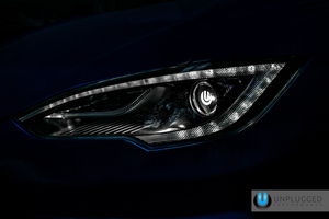 Unplugged Performance sport headlights improve light output and sharpen looks for Tesla Model S owne