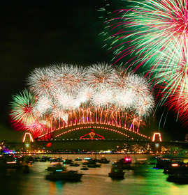 New Years Eve at Sydney Harbour Hotel