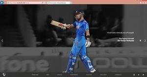 Virat Kohli Launches Fan Site at viratkohli.club