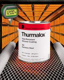 Dampney Thurmalox(R) 282 Stainless Steel Paint