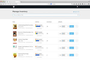 Rafter360 Manage Inventory