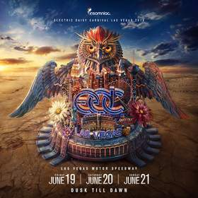 The 19th annual Electric Daisy Carnival, Las Vegas returns to the Las Vegas Motor Speedway on June 19, 20 and 21, 2015.