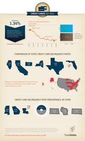 TransUnion, credit card, infographic